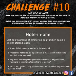 Voetbal Challenge 10