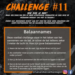 Voetbal Challenge 11