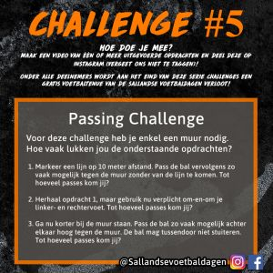 Voetbal Challenge 5