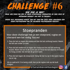 Voetbal Challenge 6