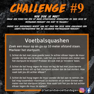 Voetbal Challenge 9