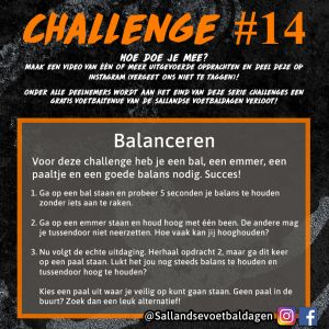 Voetbal Challenge 14