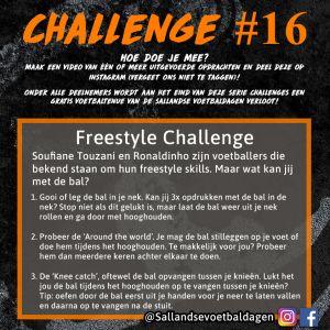 Voetbal Challenge 16