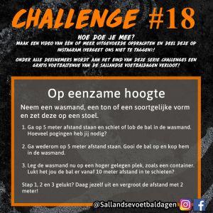 Voetbal Challenge 18