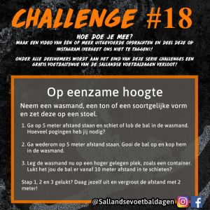 Voetbal Challenge 18